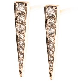 EF Collection Diamond Dagger Earrings