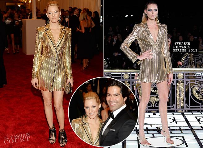 Elizabeth Banks in Atelier Versace | MET Gala 2013