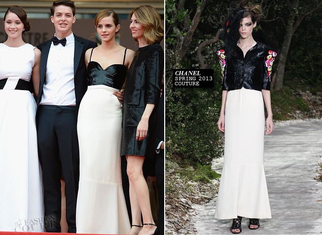 Emma Watson in Chanel Couture | 'The Bling Ring' Premiere - 2013 Cannes Film Festival