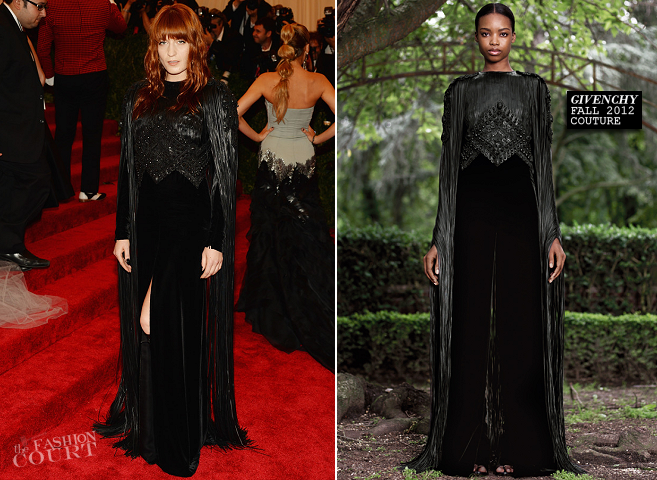 Florence Welch in Givenchy Couture | MET Gala 2013