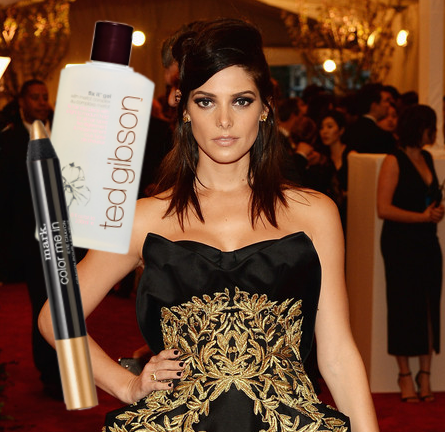 MET Ball Beauty: Ashley Greene Goes 'Young Punk Chic'!