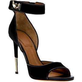 Givenchy by Riccardo Tisci Shark Tooth Clasp Sandals