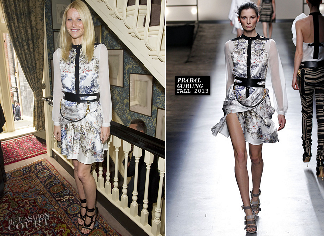 Gwyneth Paltrow in Prabal Gurung | Goop Launches The Summer Season