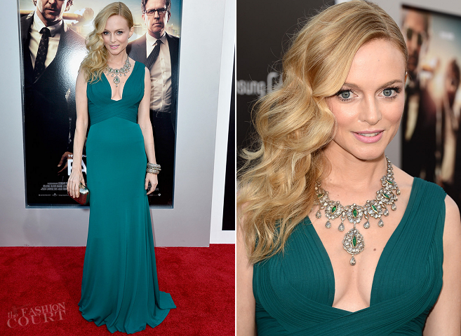 Heather Graham in Herve L. Leroux | 'The Hangover Part III' LA Premiere