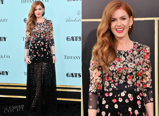 Isla Fisher in Dolce & Gabbana | 'The Great Gatsby' World Premiere
