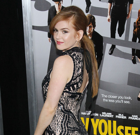 Isla Fisher in L'Wren Scott | 'Now You See Me' New York Premiere