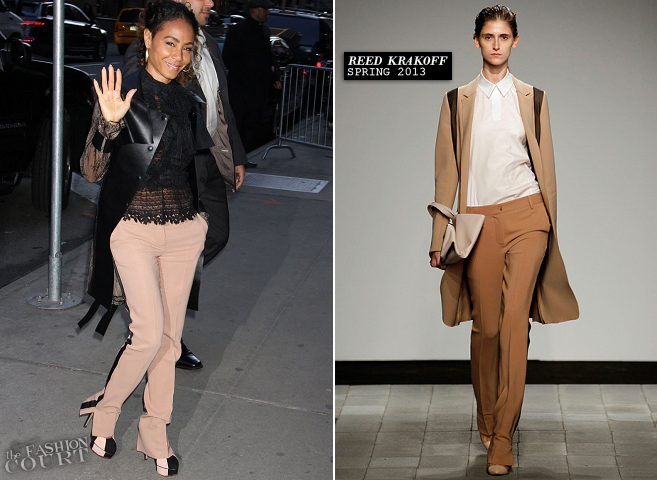 Jada Pinkett Smith in Valentino, Oscar de la Renta & Reed Krakoff | 'Good Morning America'