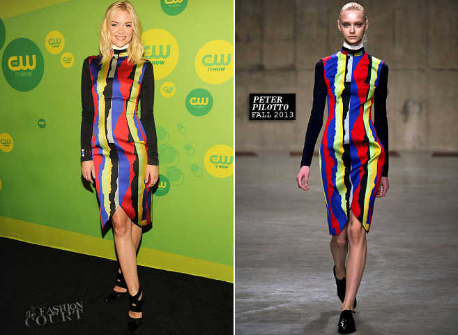 Jaime King in Peter Pilotto | The CW Upfronts 2013
