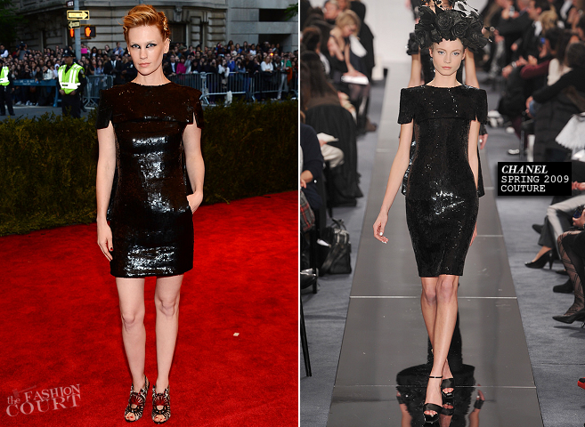 January Jones in Chanel Couture | MET Gala 2013