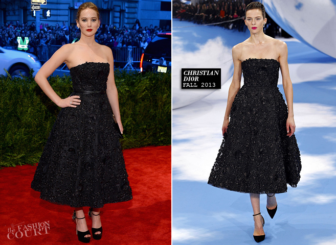 Jennifer Lawrence in Christian Dior | MET Gala 2013