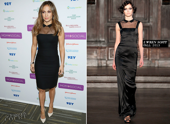 Jennifer Lopez in L'Wren Scott | 'Mom + Social' Kick-Off Event