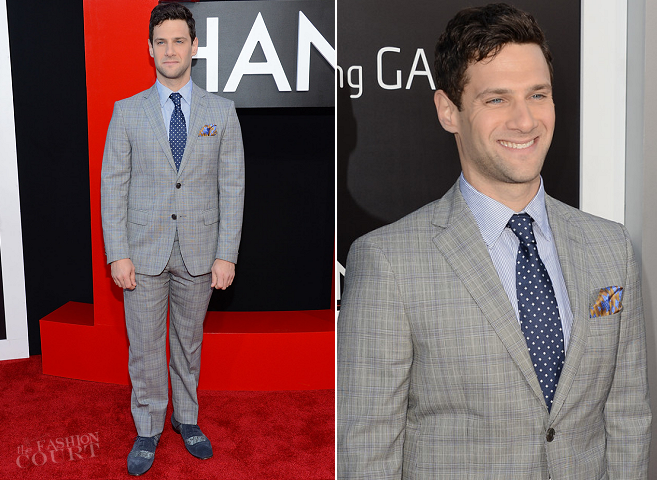 Justin Bartha in ETRO | 'The Hangover Part III' LA Premiere