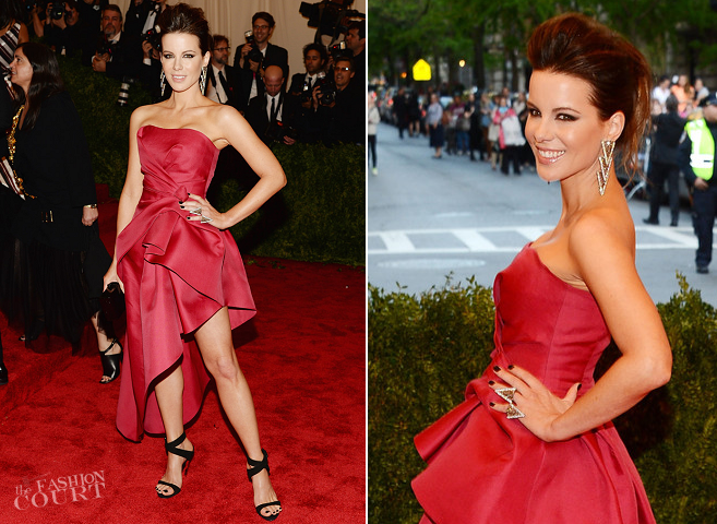 Kate Beckinsale in Alberta Ferretti | MET Gala 2013