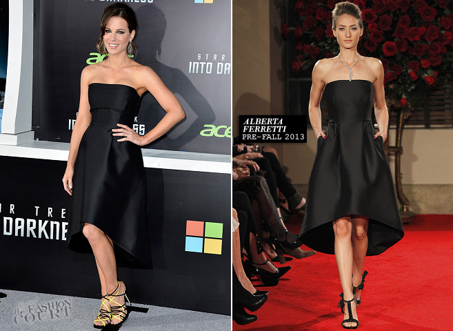 Kate Beckinsale in Alberta Ferretti | 'Star Trek Into Darkness' Hollywood Premiere