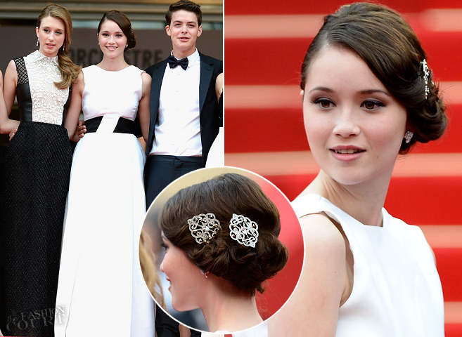 Katie Chang in Christian Dior | 'The Bling Ring' Premiere - 2013 Cannes Film Festival