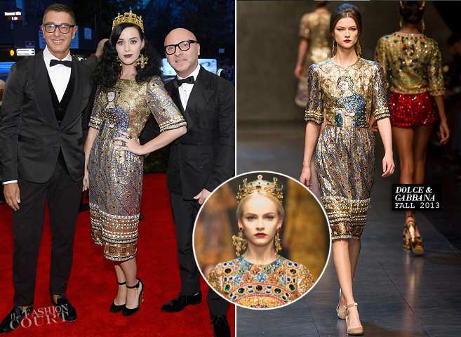 Katy Perry in Dolce & Gabbana | MET Gala 2013