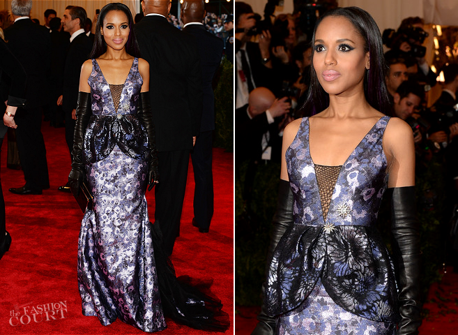 Kerry Washington in Vera Wang | MET Gala 2013