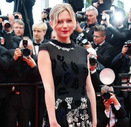 Kirsten Dunst in Michael van der Ham   'Inside Llewyn Davis' Premiere - 2013 Cannes Film Festival