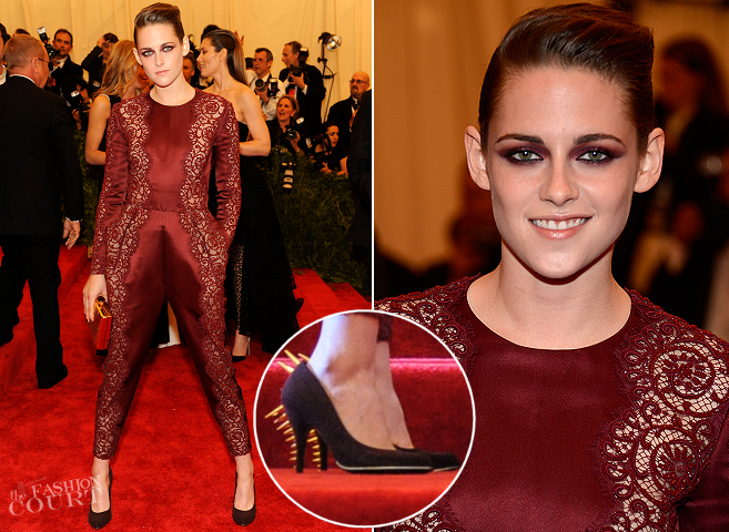 Kristen Stewart in Stella McCartney | MET Gala 2013