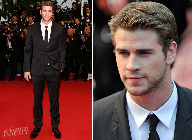 Liam Hemsworth in Dolce & Gabbana | 'Jimmy P.' Premiere - 2013 Cannes Film Festival