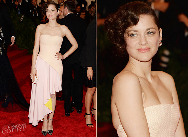 Marion Cotillard in Christian Dior Couture | MET Gala 2013