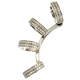 Repossi Diamond Berbère Claw Earring