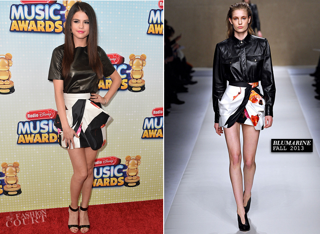 Selena Gomez in Vince & Blumarie | 2013 Radio Disney Music Awards