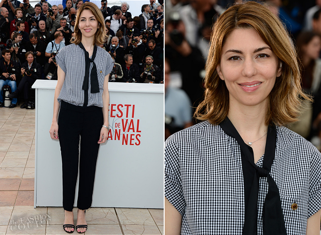 Sofia Coppola in Louis Vuitton | 'The Bling Ring' - 2013 Cannes Film Festival Photocall