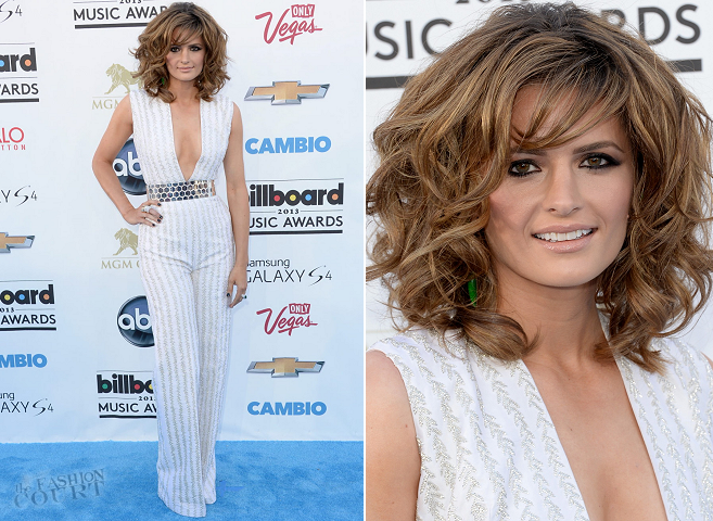 Stana Katic in Nicholas Oakwell Couture | 2013 Billboard Music Awards