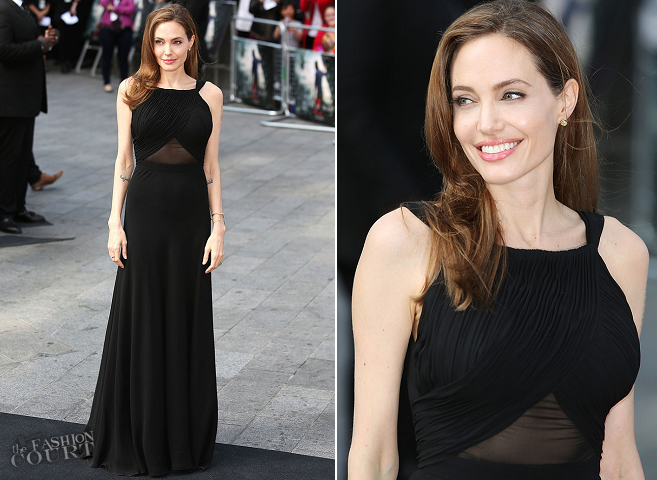 Angelina Jolie in Saint Laurent | 'World War Z' World Premiere