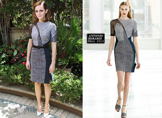 Emma Watson in Antonio Berardi | 'The Bling Ring' LA Photocall