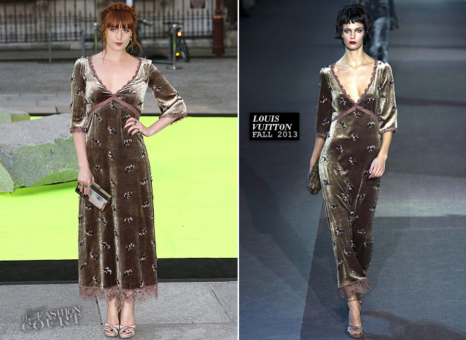Florence Welch in Louis Vuitton | The Royal Academy Of Arts Summer Exhibition 2013 Preview Party