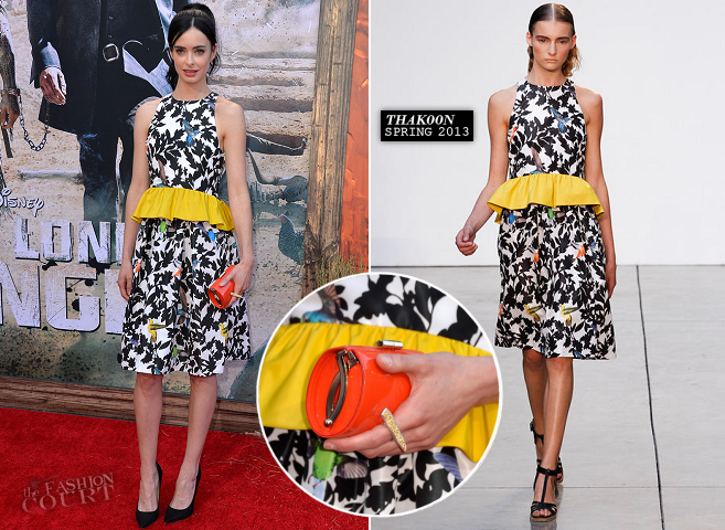 Krysten Ritter in Thakoon | 'The Lone Ranger' World Premiere