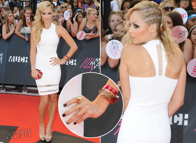 Laura Vandervoort in Alexander Wang | 2013 MuchMusic Video Awards