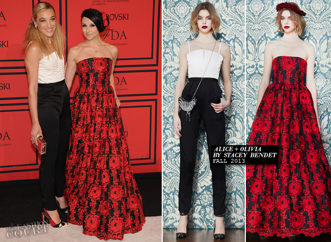 Mia Moretti in Alice + Olivia | 2013 CFDA Fashion Awards