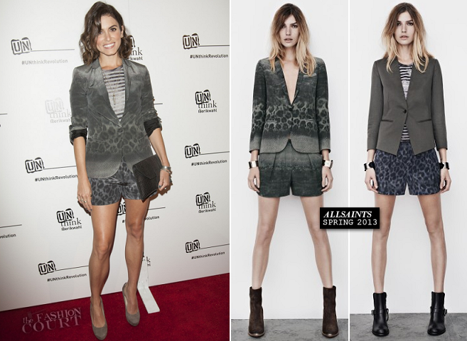 Nikki Reed in AllSaints | Erik Wahl's Book Launch For UNthink