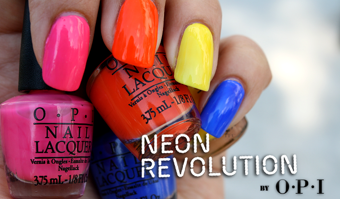 review opi neon revolution set limited edition the fashion court