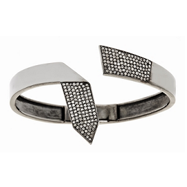 Rona Pfeiffer Diamond Tie Cuff