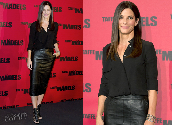 Sandra Bullock in Michael Kors & ASOS | 'The Heat' Berlin Photocalll