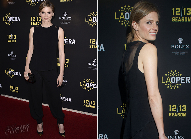 Stana Katic in Rag & Bone and Dusica Dusica | LA Opera Hosts Placido Domingo In Concert And 15th Annual Domingo Awards