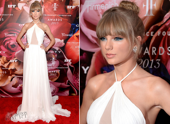 Taylor Swift in Emilio Pucci | 2013 Fragrance Foundation Awards
