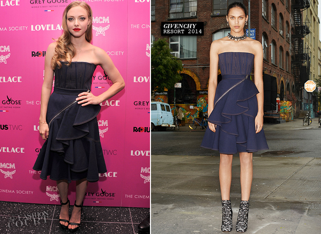 Amanda Seyfried in Givenchy | 'Lovelace' NYC Screening