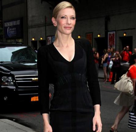 Cate Blanchett in Altuzarra | 'Late Show with David Letterman'