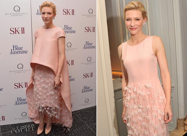 Cate Blanchett in BALENCIAGA.Edition | 'Blue Jasmine' NYC Premiere