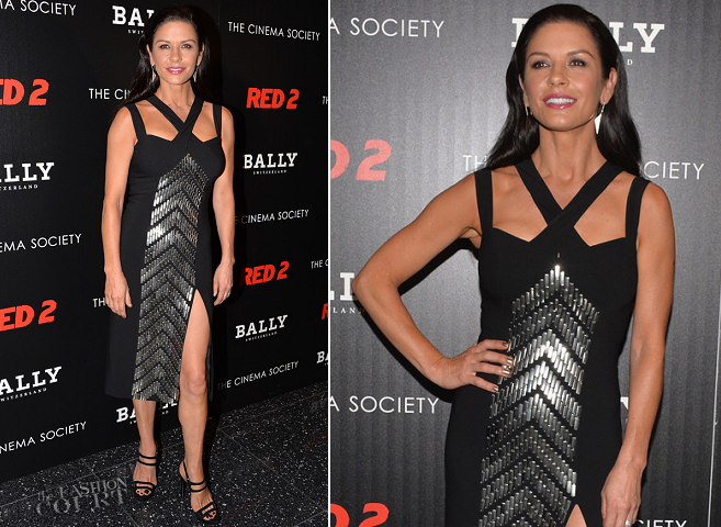 Catherine Zeta-Jones in Michael Kors | 'RED 2' NYC Screening