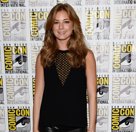 Emily VanCamp in A.L.C. | Comic-Con 2013: 'Captain America: The Winter Soldier' Press Line