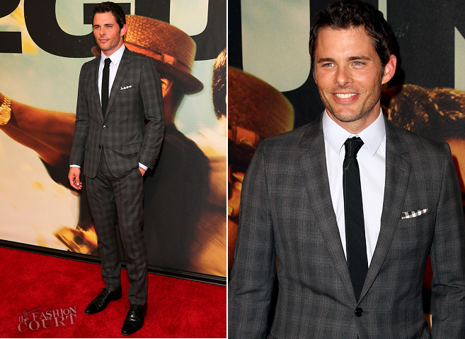 James Marsden in Dior Homme | '2 Guns' NYC Premiere