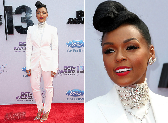 Janelle Monae in Dolce & Gabbana | 2013 BET Awards
