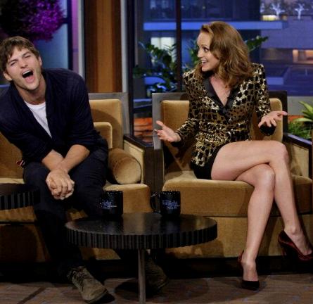 Jayma Mays in Rachel Zoe   'The Tonight Show with Jay Leno'