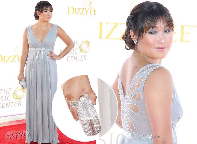 Jenna Ushkowitz in Sarah Janks | Dizzy Feet Foundation's Celebration Of Dance Gala 2013